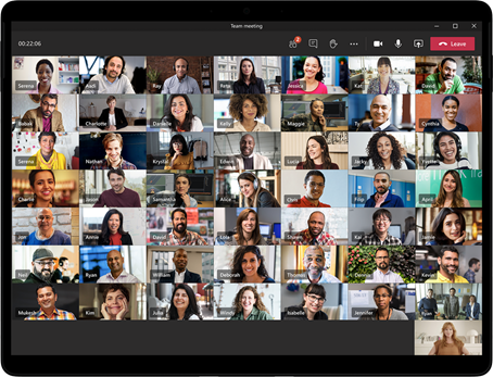 Microsoft Teams, Large Gallery View